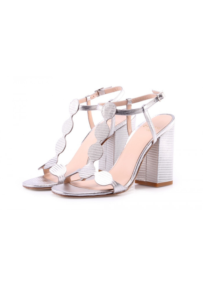 SHOES SANDALS SILVER CHANTAL