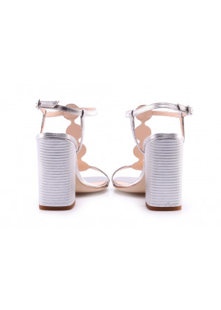 WOMEN'S SHOES SANDALS SILVER CHANTAL