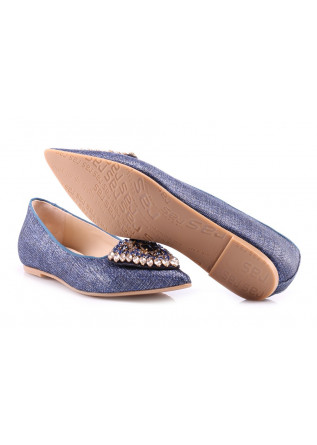 SHOES LOAFERS BLUE RAS