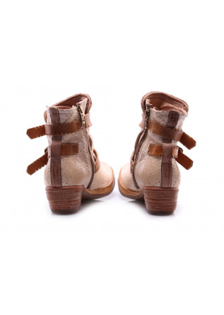 WOMEN'S SHOES BOOTS BEIGE A.S. 98