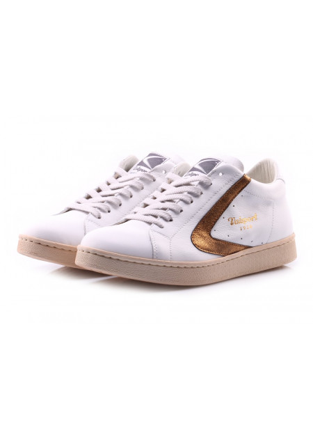 WOMEN'S SHOES SNEAKERS WHITE BRONZE VALSPORT