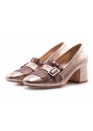 WOMEN'S SHOES PUMPS BRONZE TODAI