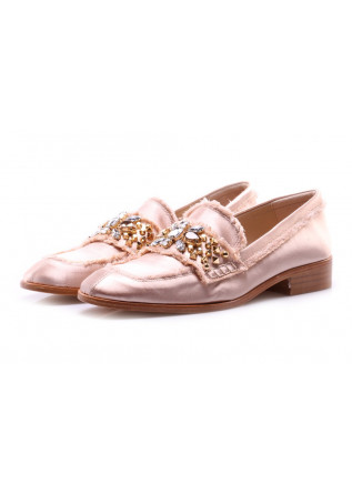 SHOES LOAFERS PINK RAS