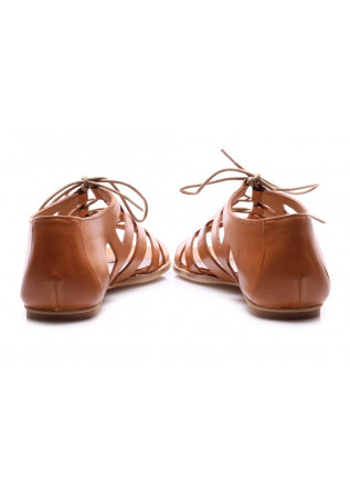 WOMEN'S SHOES SANDALS BROWN POESIE VENEZIANE