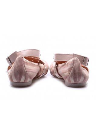 WOMEN'S SHOES BALLERINAS PINK D+