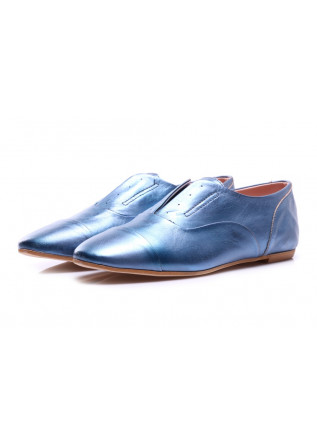SHOES LOAFERS LIGHT BLUE POPS