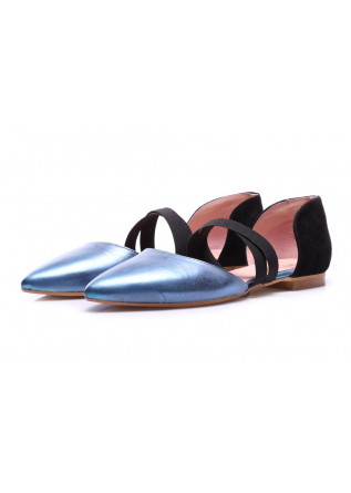 SHOES BALLERINAS LIGHT BLUE POPS