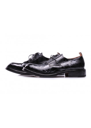 WOMEN'S SHOES FLATS SHOES BLACK MACULATED MOMA
