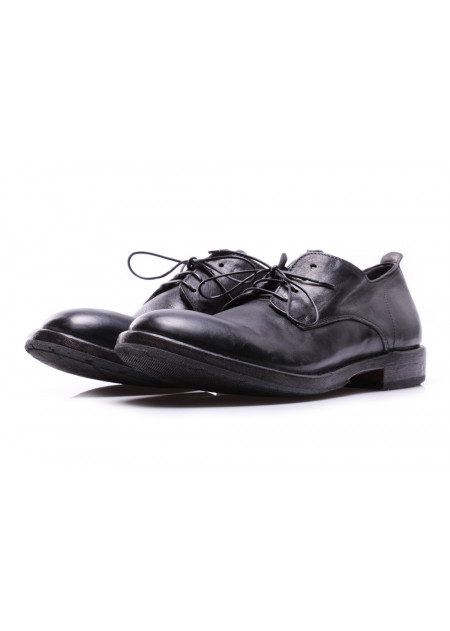 MEN'S SHOES LACE-UP BLACK CUSNA MOMA