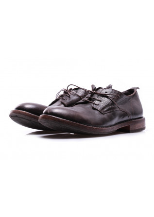 MEN'S SHOES LACE-UP DARK BROWN MOMA