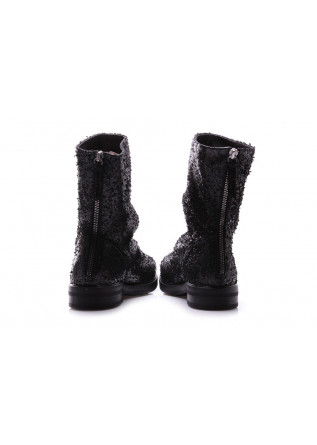 WOMEN'S SHOES BOOTS INCISED BLACK HALMANERA