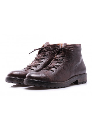 MEN'S SHOES BOOTS DARK BROWN MANOVIA 52