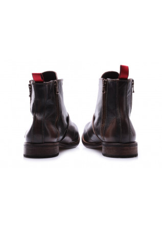 MEN'S SHOES BOOTS BROWN RED  J.P. DAVID