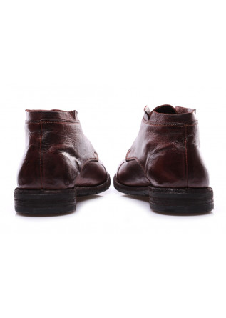 MEN'S SHOES LACE-UP LEDER BROWN MANOVIA 52