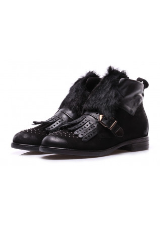 WOMEN'S SHOES BOOTS BLACK MJUS