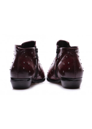 WOMEN'S SHOES BOOTS BORDEAUX STUDS MJUS