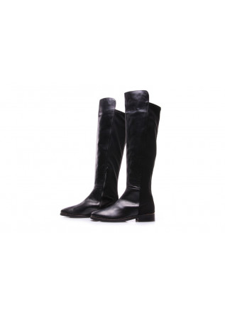 WOMEN'S SHOES HIGH BOOTS BLACK MANOVIA 52
