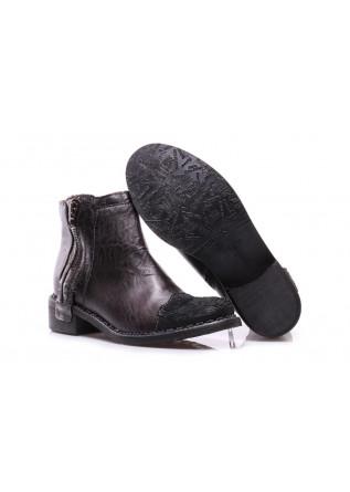 WOMEN'S SHOES BOOTS BLACK CLOCHARME / CHARME ROUTARD