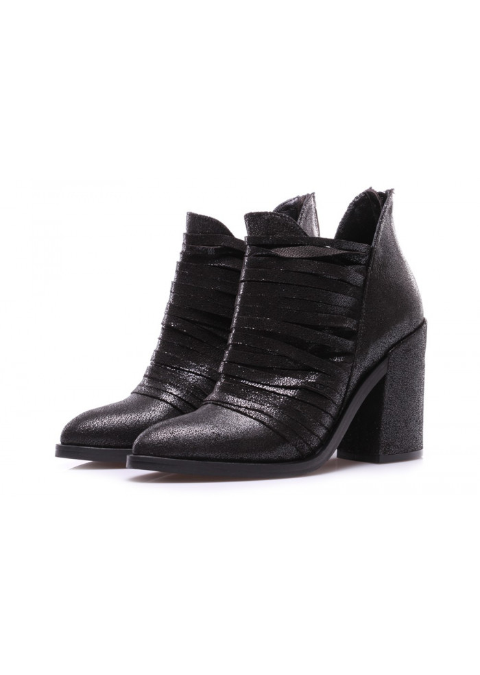 WOMEN'S SHOES BOOTS BLACK SALVADOR RIBES