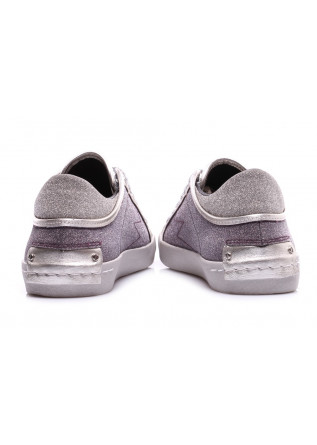 WOMEN'S SHOES SNEAKERS SILVER CRIME