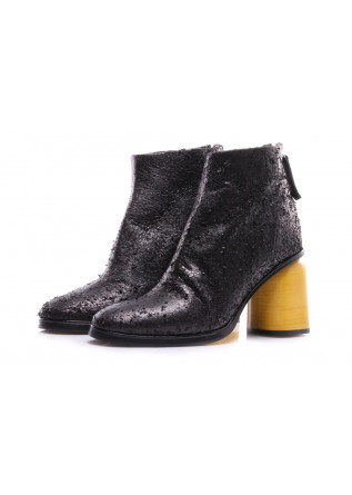 WOMEN'S SHOES BOOTS BLACK HALMANERA