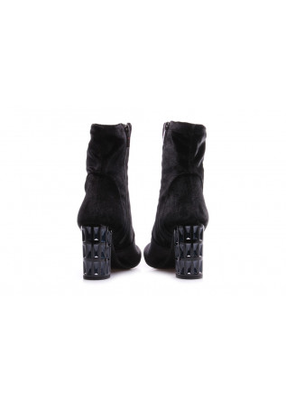 WOMEN'S SHOES BOOTS BLACK TODAI
