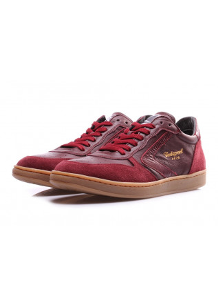 SCARPE UOMO SNEAKERS BORDEAUX VALSPORT