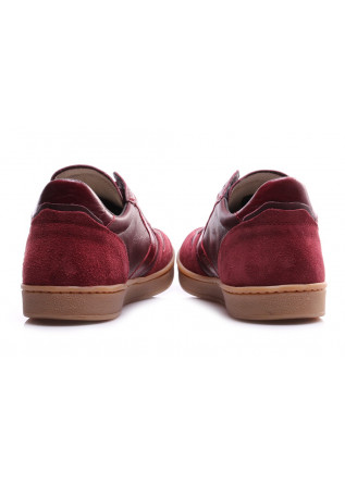 MEN'S SHOES SNEAKERS BORDEAUX SUEDE LEATHER VALSPORT