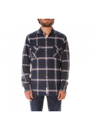 MEN'S CLOTHING SHIRT BLUE ETICHETTA 35