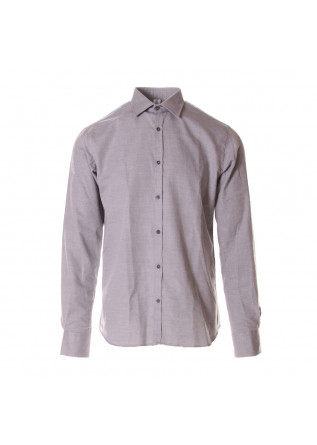 MEN'S CLOTHING SHIRT GREY ETICHETTA 35