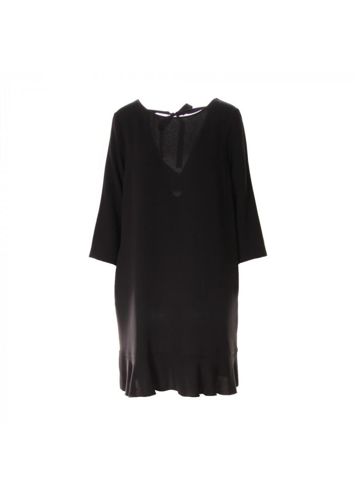 WOMEN'S CLOTHING DRESS BLACK JUCCA