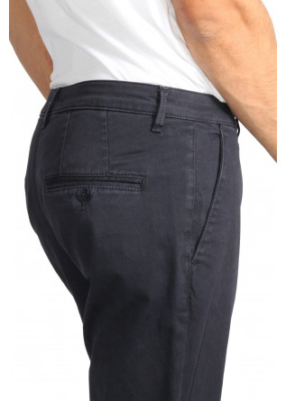 Pantalone Abbigliamento Uomo OBVIUS BASIC grigio/blu