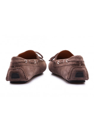 HERRENSCHUHE LOAFER SUEDE BRAUN MANOVIA 52