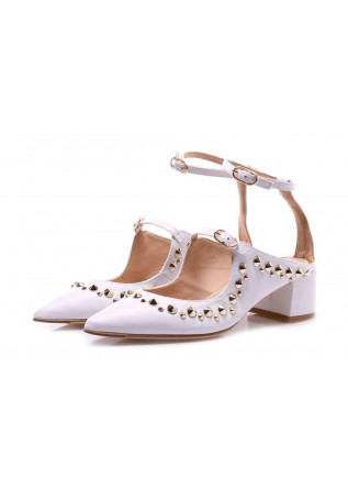 WOMEN'S SHOES SANDALS WHITE RAS