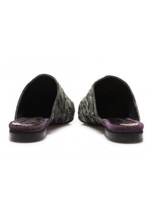 WOMEN'S SHOES SANDALS PURPLE PAPUCEI