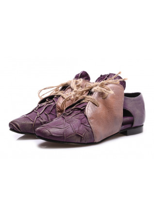 WOMEN'S SHOES FLAT SHOES PURPLE PAPUCEI