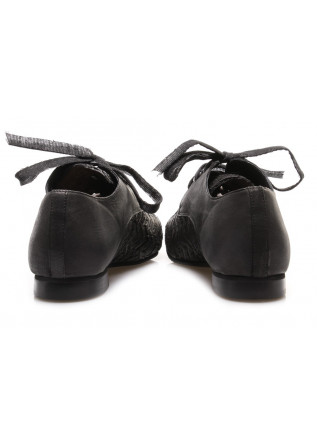 WOMEN'S SHOES FLAT SHOES BLACK PAPUCEI
