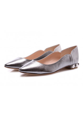 WOMEN'S SHOES FLAT SHOES SILVER MANOVIA 52