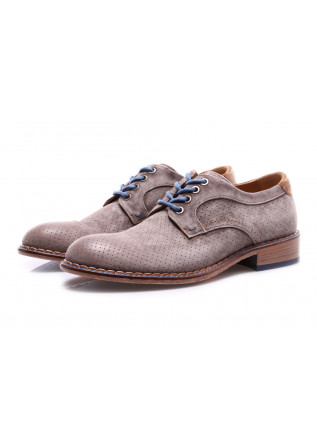MEN'S SHOES LACE-UP GREY LORENZI