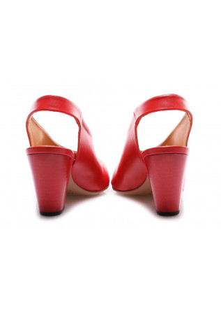 WOMEN'S SHOES SANDALS RED HALMANERA