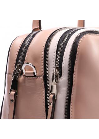 WOMEN'S BAGS BAGS BEIGE DOUBLE ZIP GIANNI CHIARINI