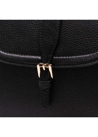 WOMEN'S BAGS BAGS BLACK LEATHER GIANNI CHIARINI
