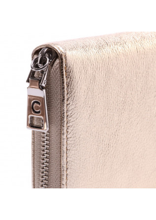 WOMEN'S ACCESSORIES  WALLET PLATINO GOLD GIANNI CHIARINI