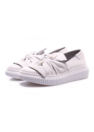 SCARPE DONNA SNEAKERS BIANCO D+