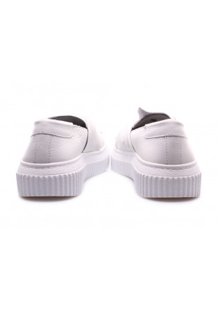 WOMEN'S SHOES SNEAKERS WHITE D+