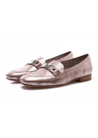 WOMEN'S SHOES FLAT SHOES METALLIC EFFECT D+