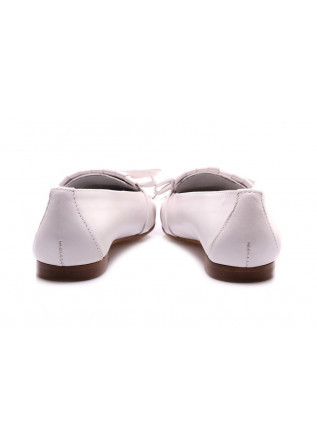 WOMEN'S SHOES FLAT SHOES WHITE D+