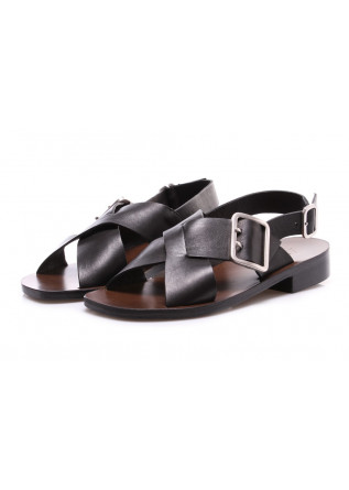 WOMEN'S SHOES SANDALS BLACK MANOVIA 52