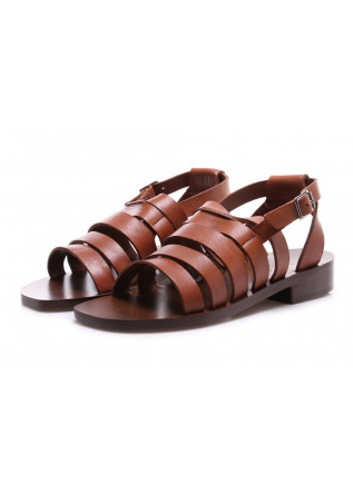WOMEN'S SHOES SANDALS BROWN MANOVIA 52