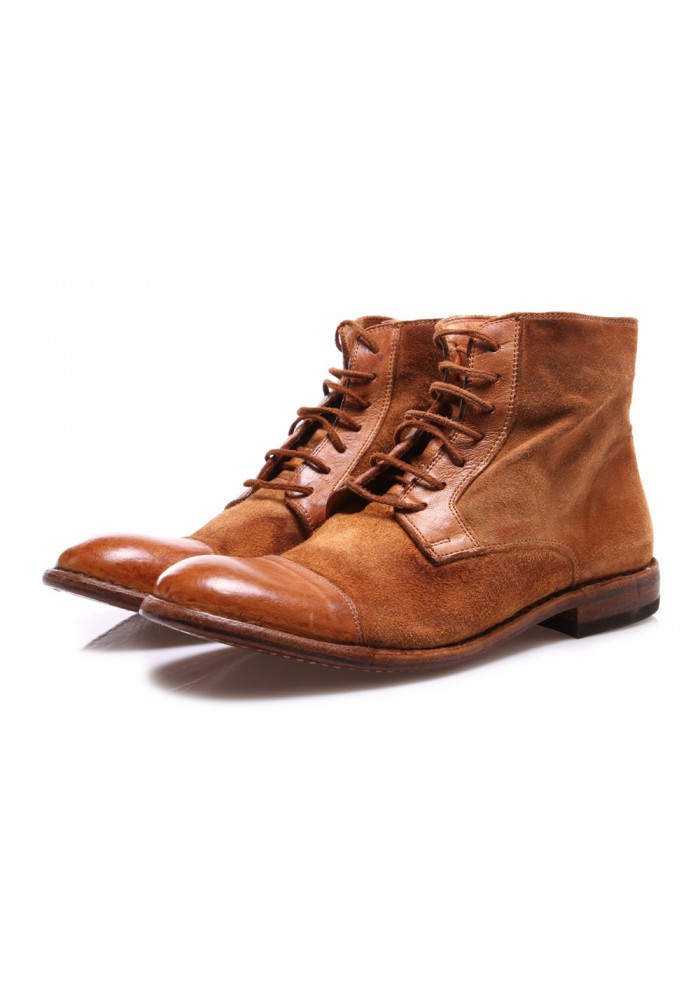 MEN'S SHOES BOOTS BROWN MANOVIA 52